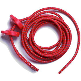 Zone3 Elastic Laces, red